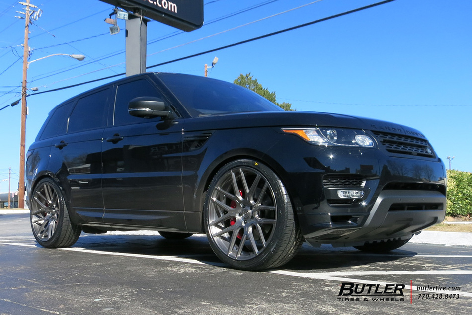 Land Rover Range Rover Sport With 24in Savini Sv63d Wheels