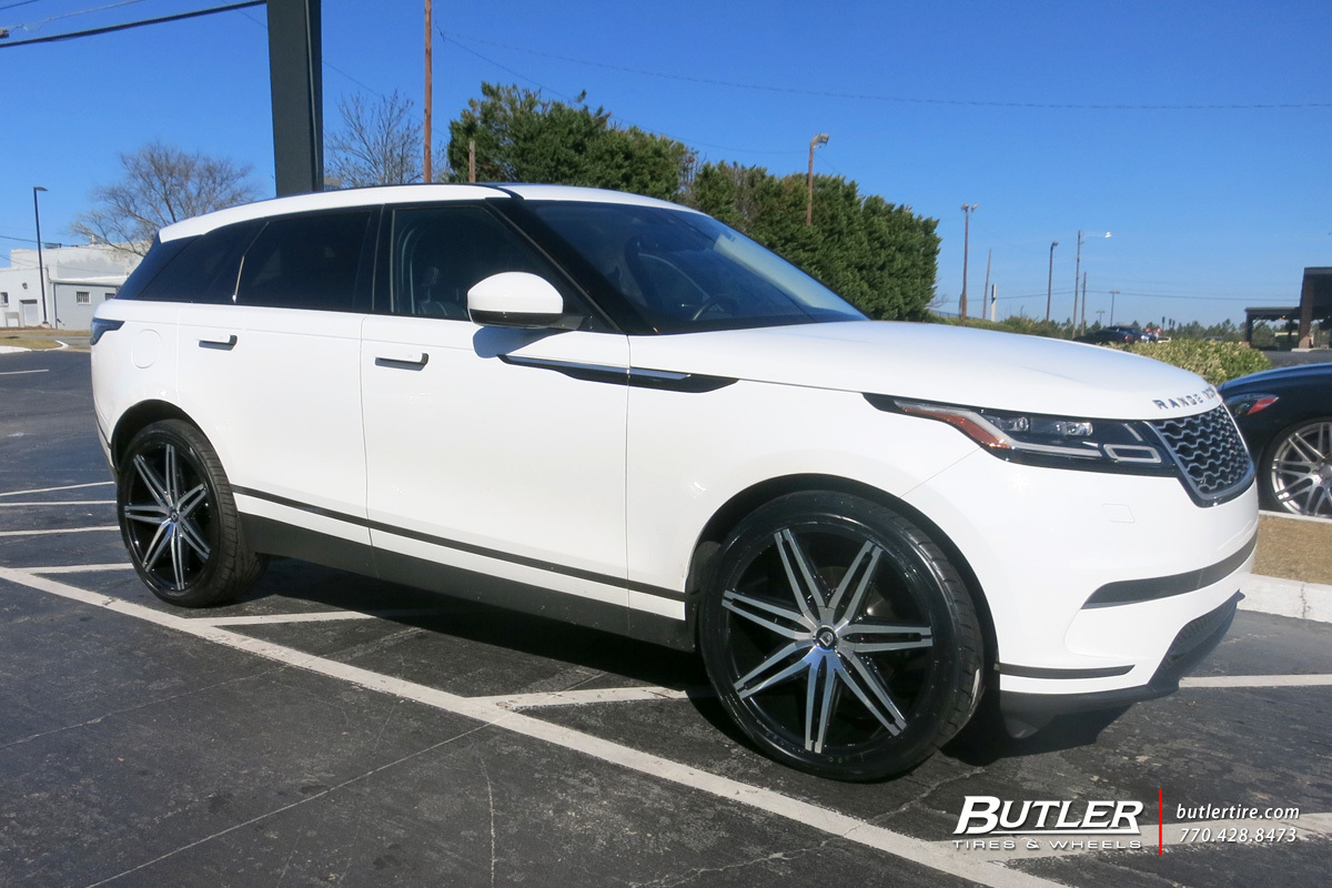 Land Rover Velar with 22in Lexani Johnson II Wheels