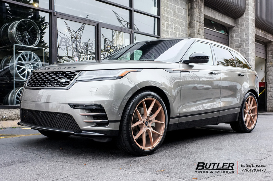 Land Rover Velar with 22in Savini BM14 Wheels exclusively ...