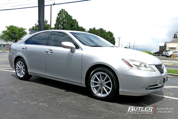 Lexus ES with 17in TSW Bathurst Wheels