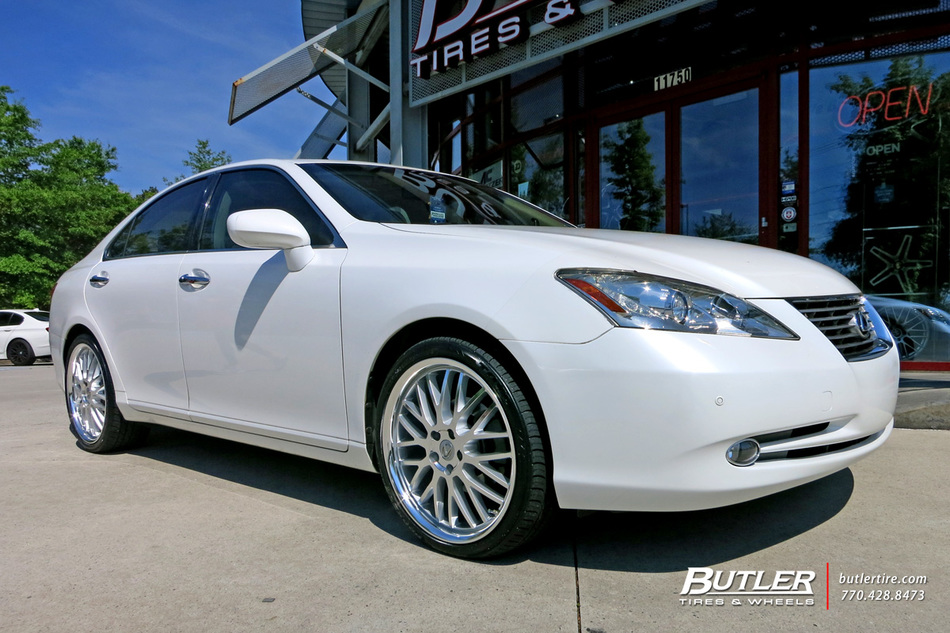 lexus es with 20in lumarai kya wheels exclusively from butler tires and wheels in atlanta ga. Black Bedroom Furniture Sets. Home Design Ideas
