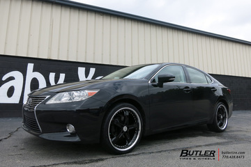 Lexus ES with 20in TSW Jarama Wheels