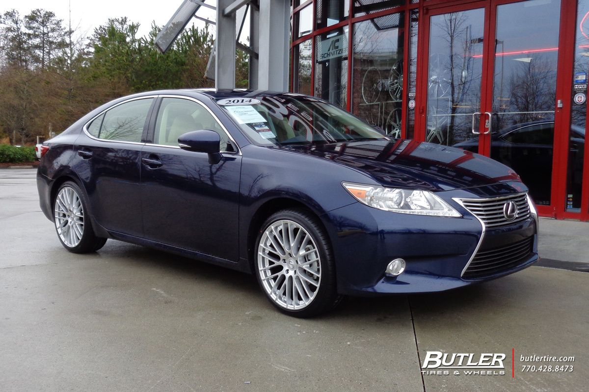 Lexus ES with 20in TSW Max Wheels