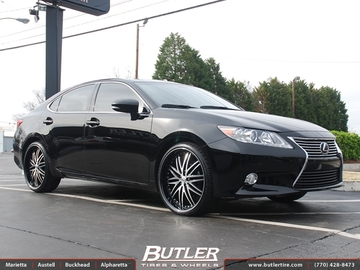 Lexus ES with 22in Lexani LX10 Wheels