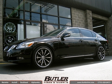 Lexus GS with 20in Lexani CVX 55 Wheels