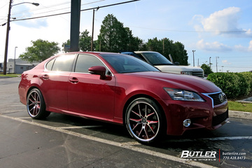Lexus GS with 20in Lexani R-Twelve Wheels