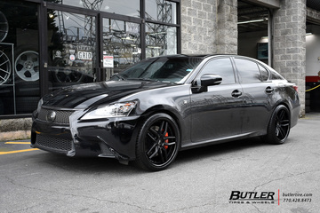 Lexus GS with 20in Niche Methos Wheels