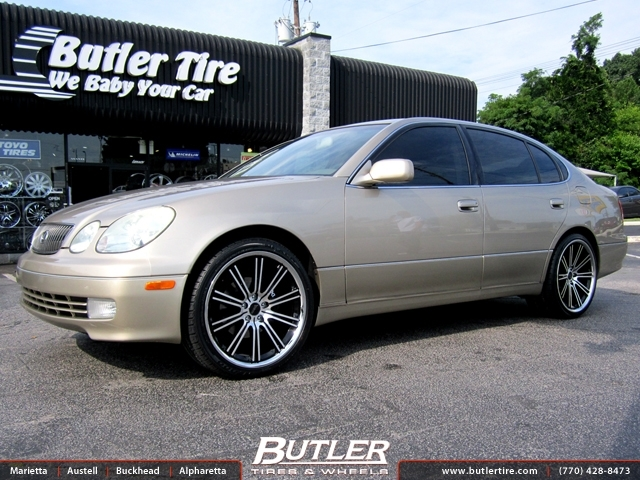 Lexus GS with 20in Savini BM2 Wheels