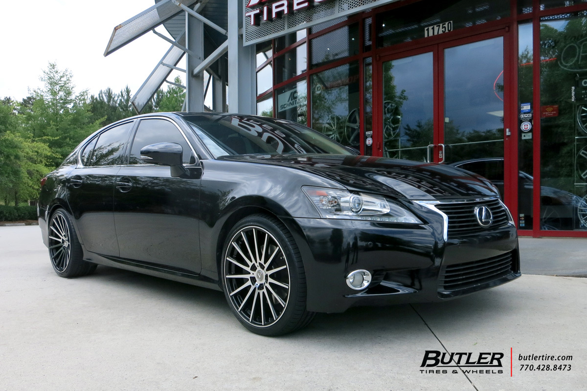 Lexus GS with 20in TSW Chicane Wheels