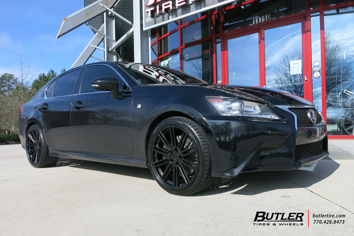 Lexus GS with 20in TSW Crowthorne Wheels