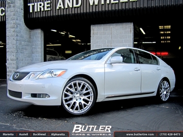 Lexus GS with 20in TSW Mugello Wheels