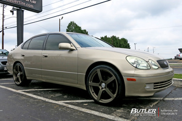 Lexus GS with 20in TSW Panorama Wheels