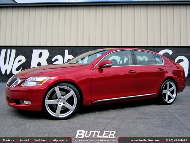 Lexus Gs With 20in Tsw Rivage Wheels Exclusively From
