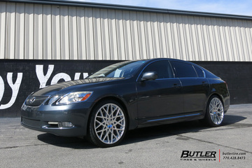 Lexus GS with 20in TSW Vale Wheels