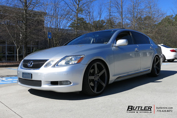 Lexus GS with 20in Vossen CV3-R Wheels