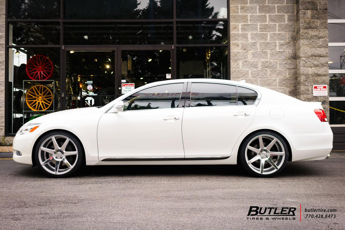 Lexus GS with 20in Vossen CV7 Wheels exclusively from Butler Tires