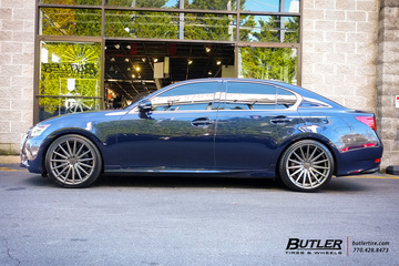 Lexus GS with 20in Vossen VFS2 Wheels