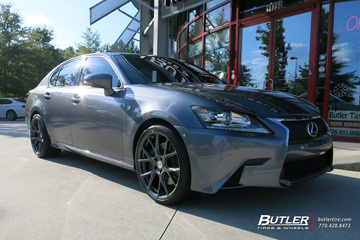 Lexus GS with 20in Vossen VFS6 Wheels