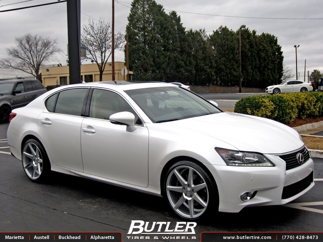 Lexus Gs With 20in Vossen Cv7 Wheels Exclusively From Butler Tires And Wheels In Atlanta Ga