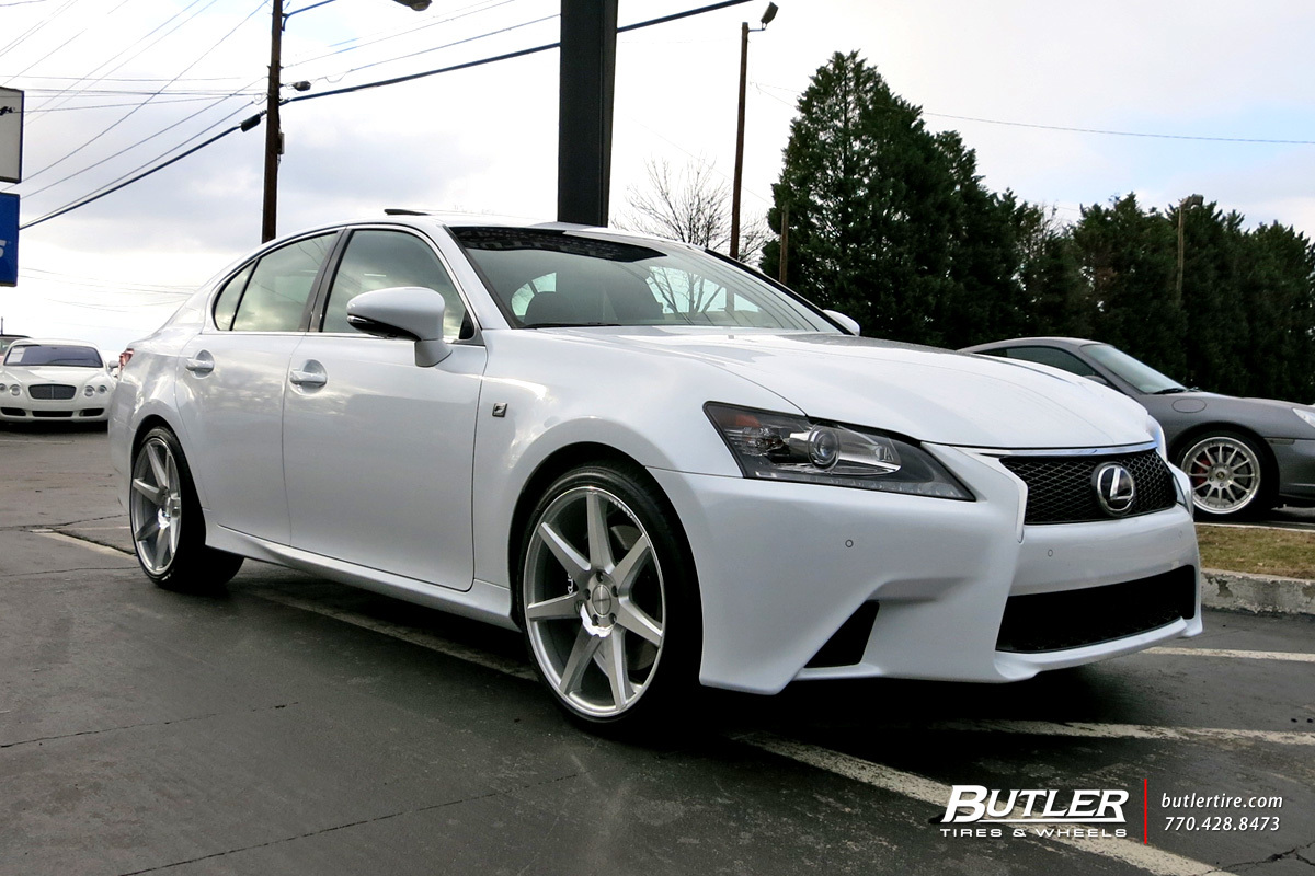Lexus GS with 20in Vossen CV7 Wheels