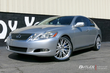Lexus GS with 21in TSW Monaco Wheels