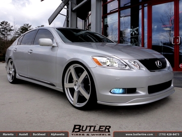 Lexus GS with 22in TSW Panorama Wheels