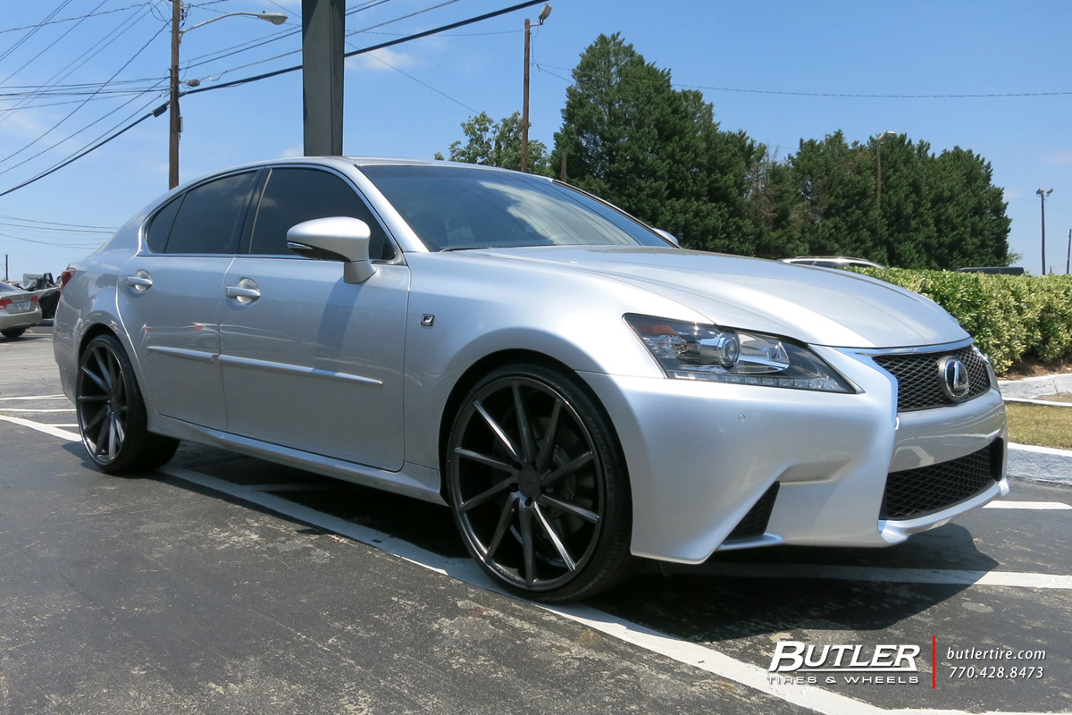 Lexus Gs With 22in Vossen Cvt Wheels Exclusively From