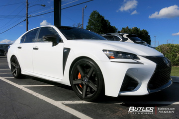 Lexus GS F with 20in TSW Ascent Wheels