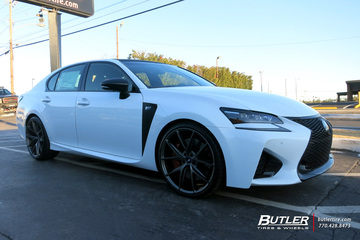 Lexus GS F with 21in Niche Misano Wheels