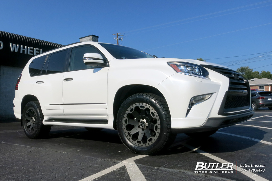 Lexus GX with 20in Black Rhino Warlord Wheels exclusively ...