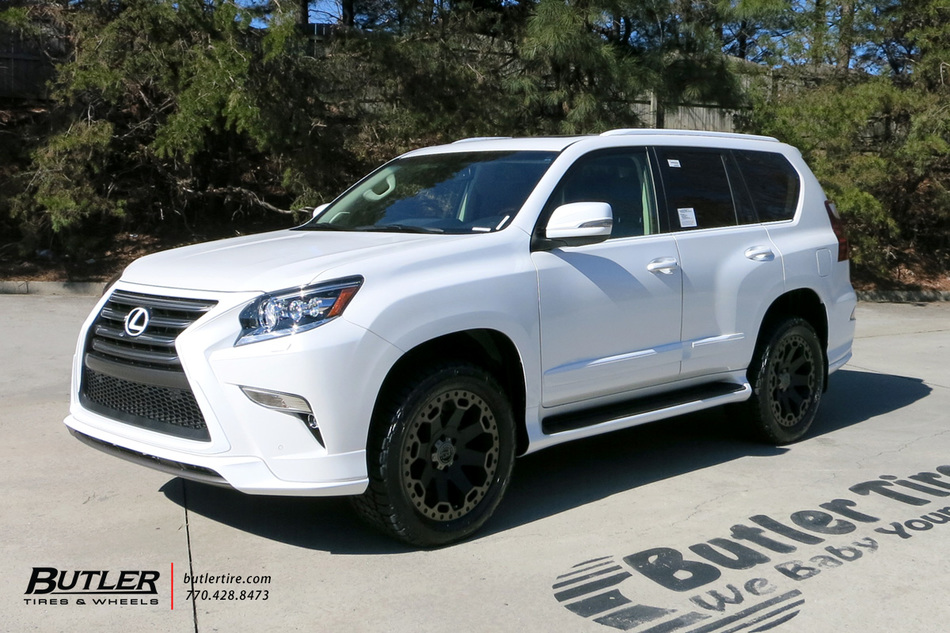 Land Rover Atlanta >> Lexus GX with 20in Black Rhino Warlord Wheels exclusively ...