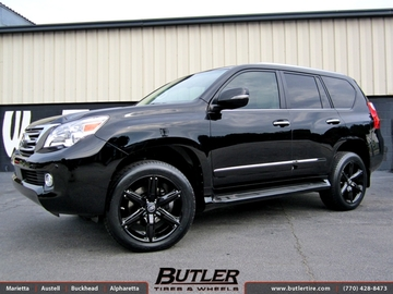 Lexus GX with 20in CEC 826 Wheels