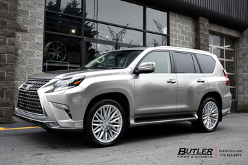 Lexus GX with 22in Status Adamas Wheels