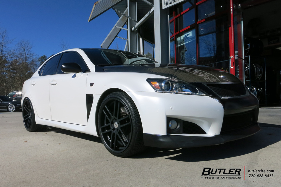 Lexus IS-F with 20in TSW Rouen Wheels exclusively from Butler Tires ...