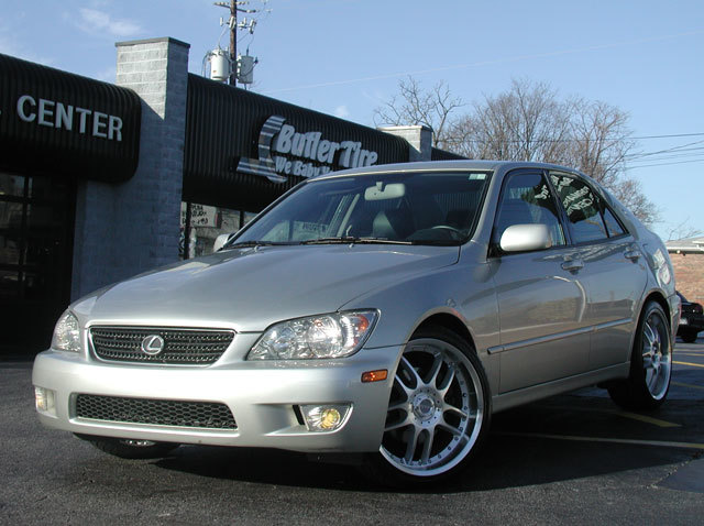 Lexus IS with 19in Axis NEO Wheels