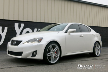Lexus IS with 19in Niche Turin Wheels