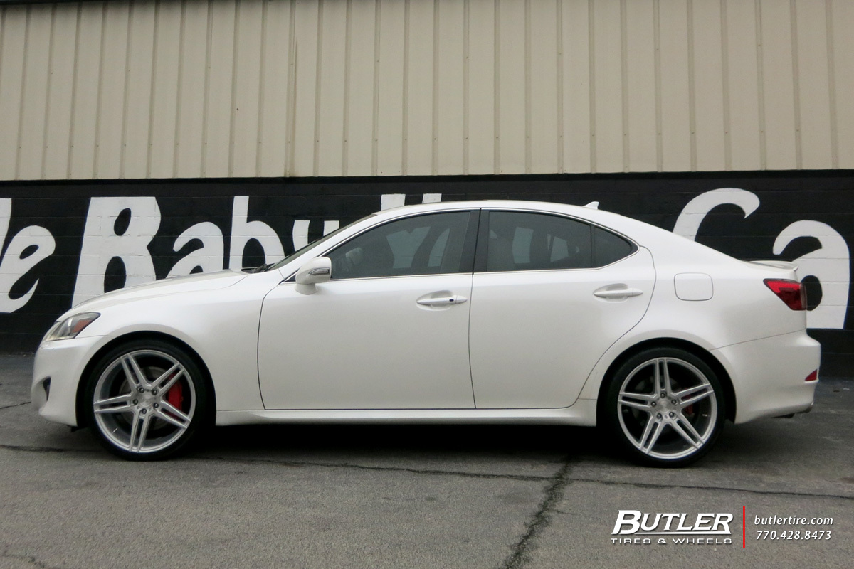 Lexus Is With 19in Niche Turin Wheels Exclusively From