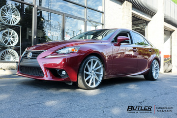Lexus IS with 19in Vossen CVT Wheels