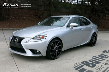 Lexus IS with 20in Savini BM15 Wheels