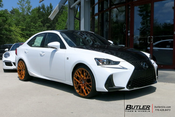 Lexus IS with 20in TSW Sebring Wheels
