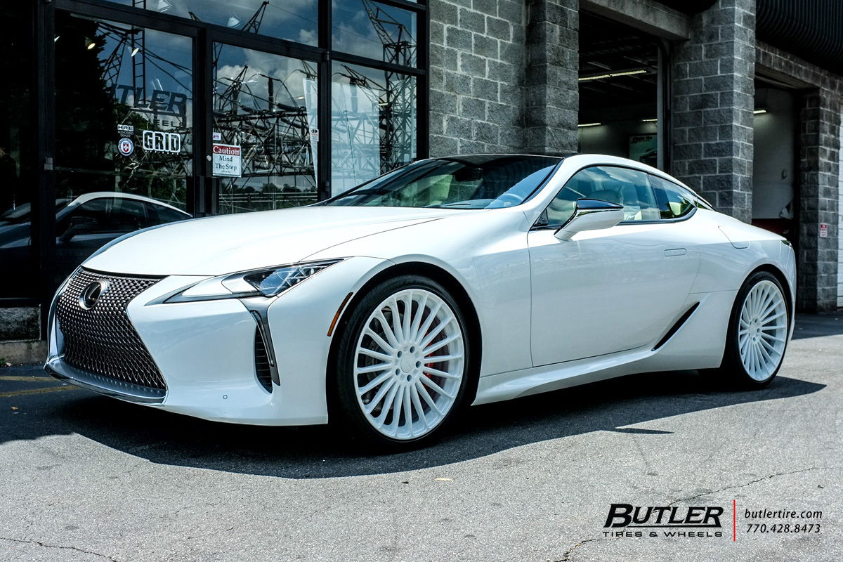 Lexus Lc500 With 22in Tsw Turbina Wheels Exclusively From