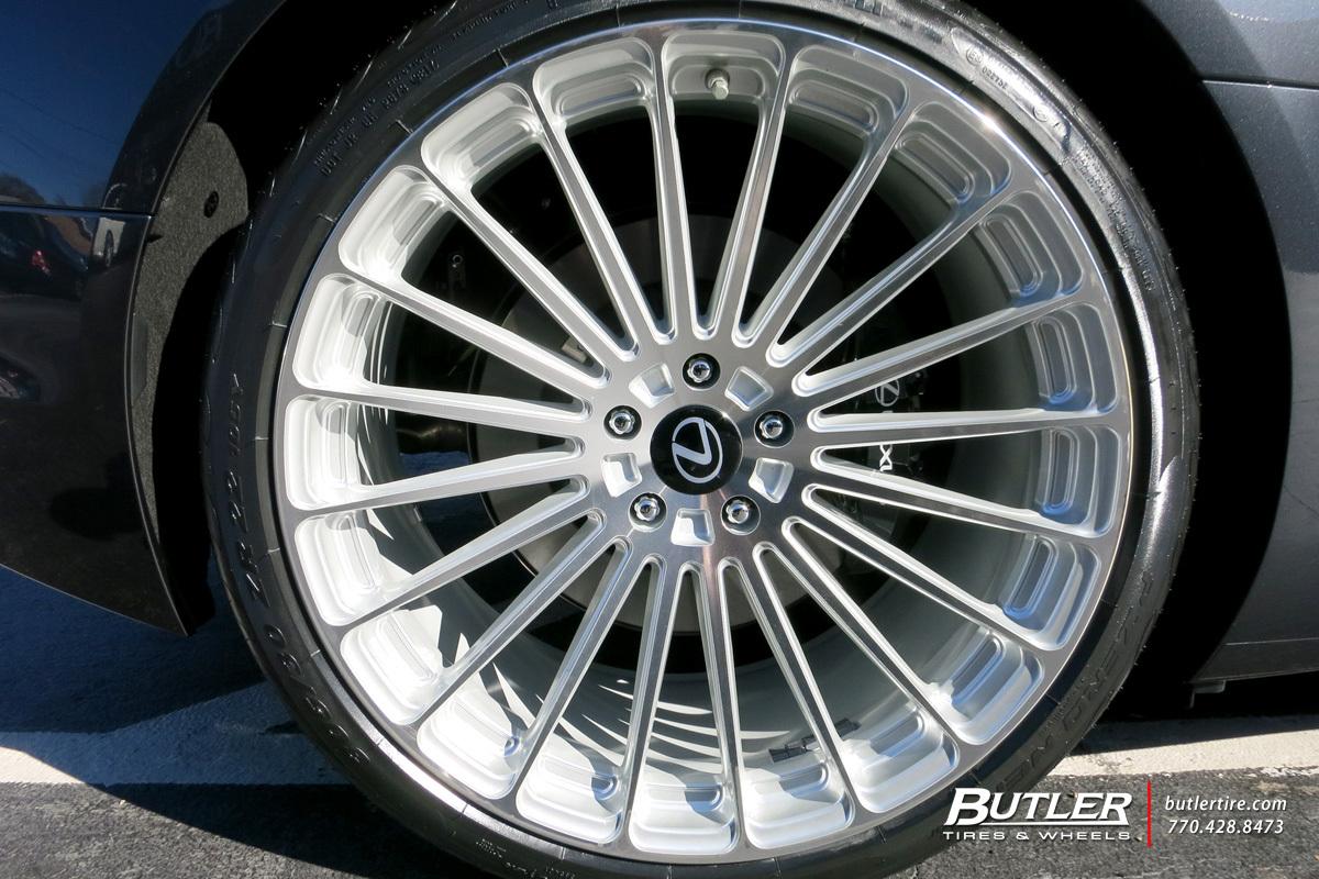 Pirelli P Zero Nero >> Lexus LC500 with 22in TSW Turbina Wheels exclusively from Butler Tires and Wheels in Atlanta, GA ...