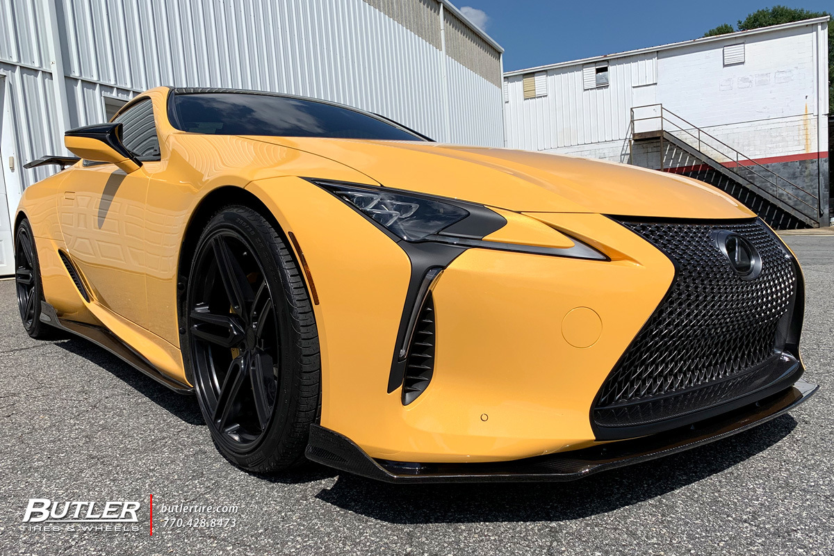 Artisan Spirits Lexus LC500 with 22in Vossen HF-1 Wheels