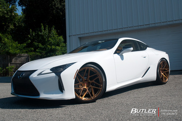 Lexus LC500 with 22in Vossen VPS-315T Wheels