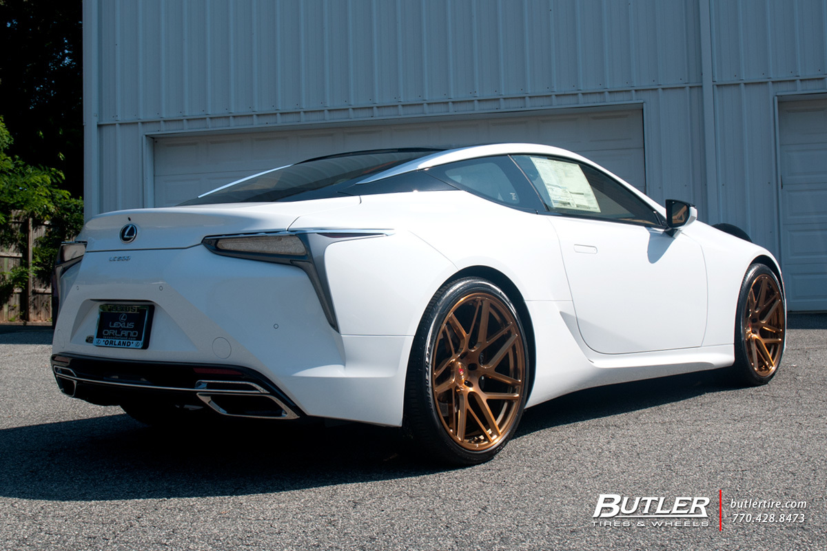 Car Tire Rims >> Lexus LC500 with 22in Vossen VPS-315T Wheels exclusively from Butler Tires and Wheels in Atlanta ...