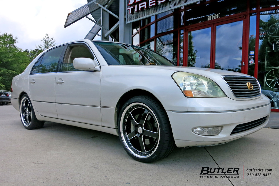 Lexus LS430 with 20in TSW Rivage Wheels exclusively from Butler Tires and Wheels in Atlanta, GA ...