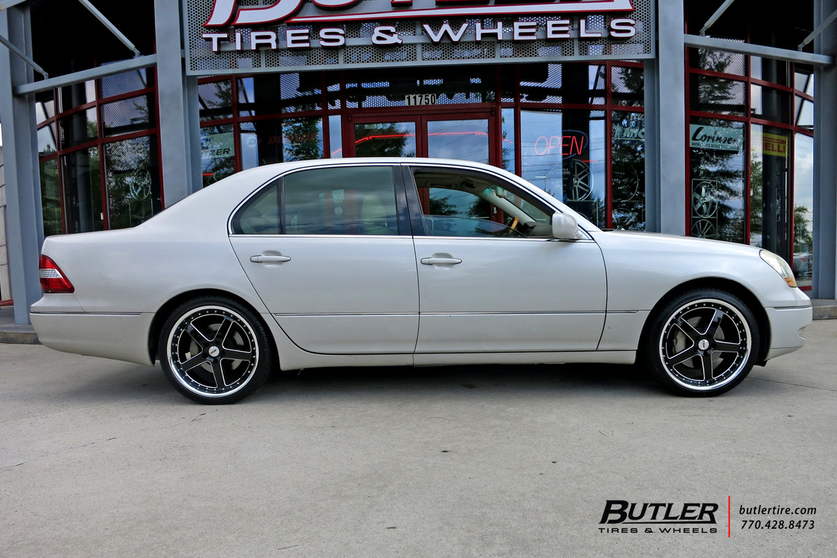 Lexus LS430 with 20in TSW Rivage Wheels