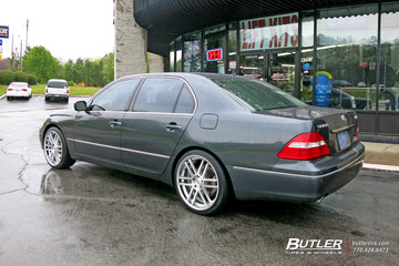 Lexus LS430 with 20in TSW Rouen Wheels