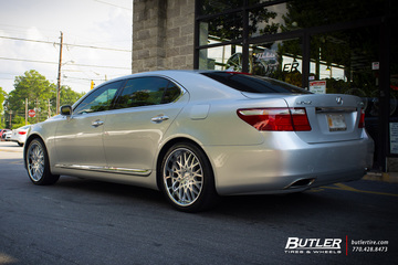 Lexus LS460 with 20in TSW Rascasse Wheels