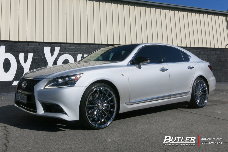 Lexus LS460 with 22in Lexani Pegasus Wheels exclusively ...